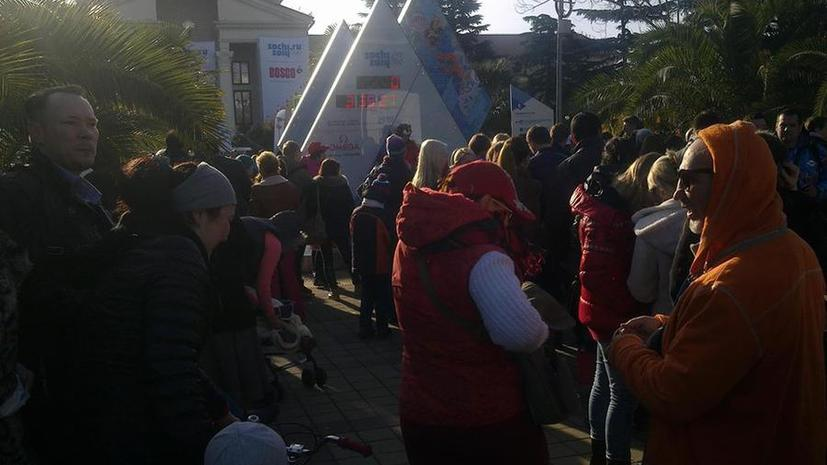 В Сочи прекрасная погода - Олимпийская столица за несколько часов до начала Игр