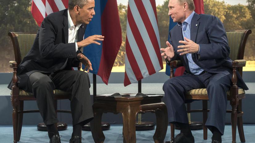 История встреч Владимира Путина и Барака Обамы