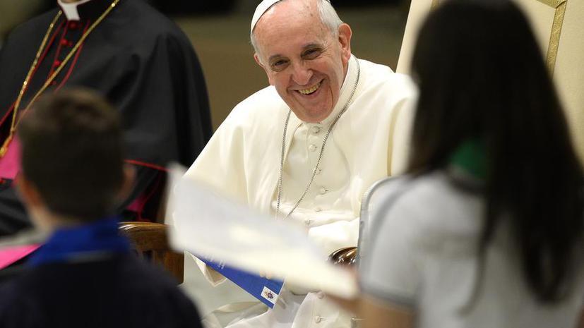 Папа Франциск признался, что не хотел становиться понтификом