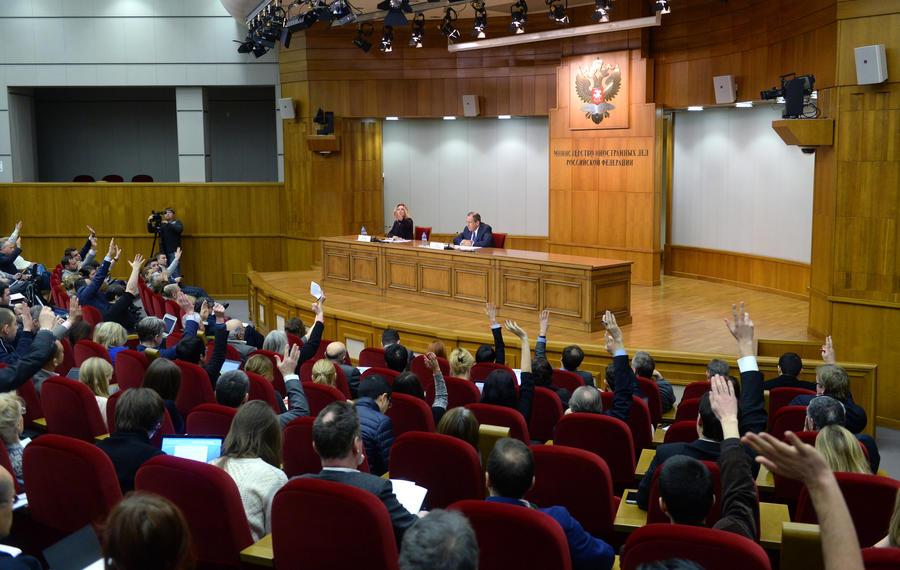 Сергей Лавров: Лидерство РФ в борьбе с терроризмом — ключевое направление работы