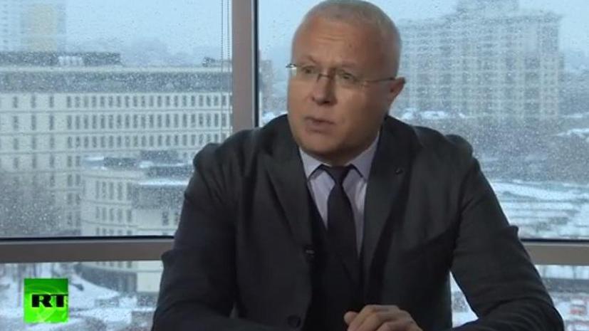 Александр Лебедев в интервью RT: Телевидение не бывает на 100% беспристрастным