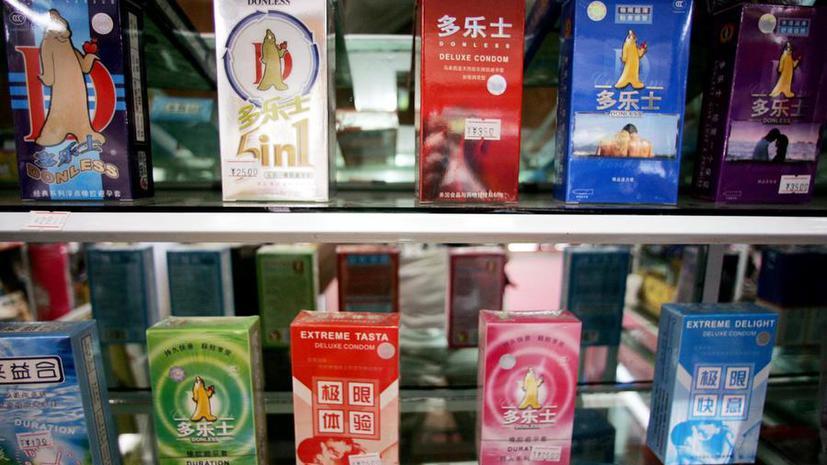 Китайские экономические показатели растут за счёт продаж презервативов
