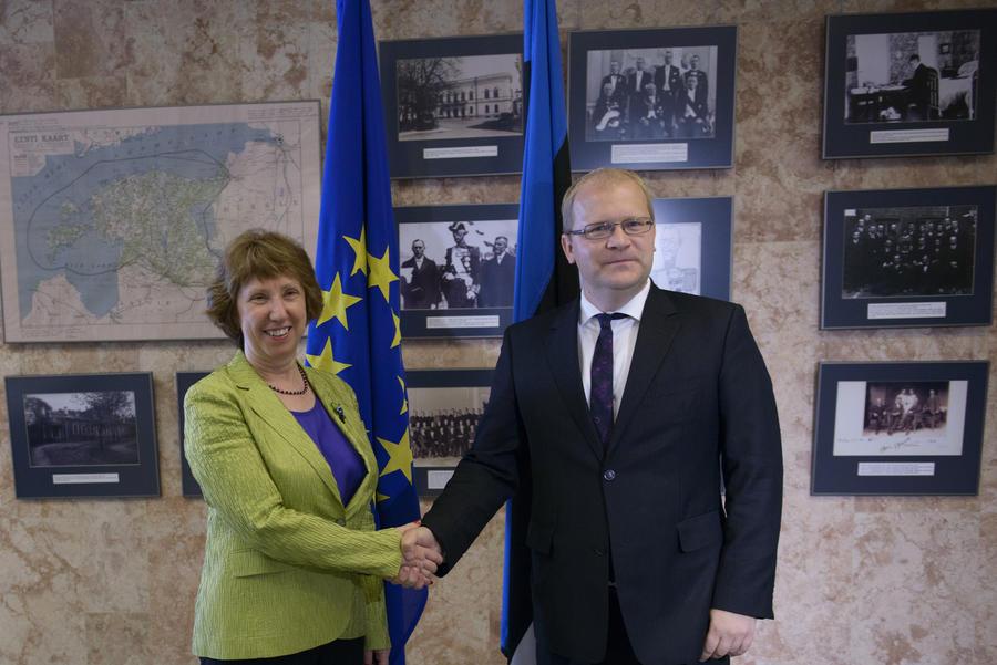МИД Эстонии подтвердил подлинность записи разговора между Паэтом и Эштон о событиях на Украине