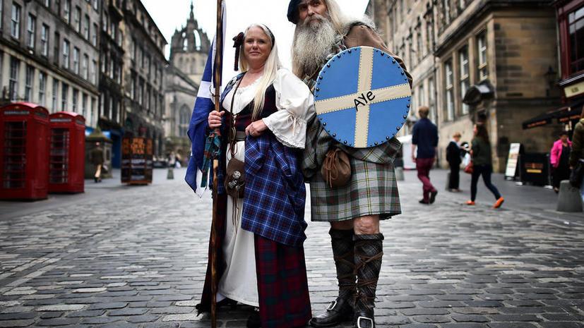 Один день до голосования: Шотландии обещают больше полномочий взамен независимости