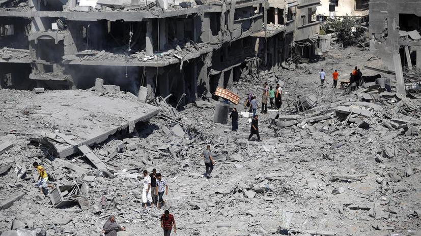 Объявленное Израилем на сутки перемирие стало односторонним