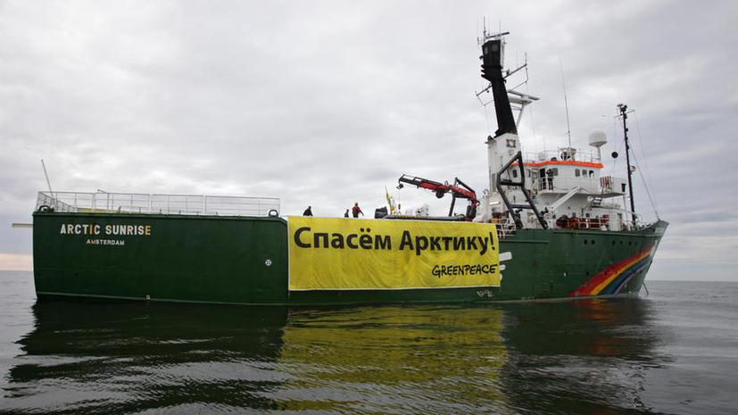 Арестованных активистов Greenpeace перевезут из Мурманска в Петербург