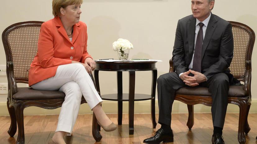 Владимир Путин и Ангела Меркель обсудили в Рио-де-Жанейро ситуацию на Украине