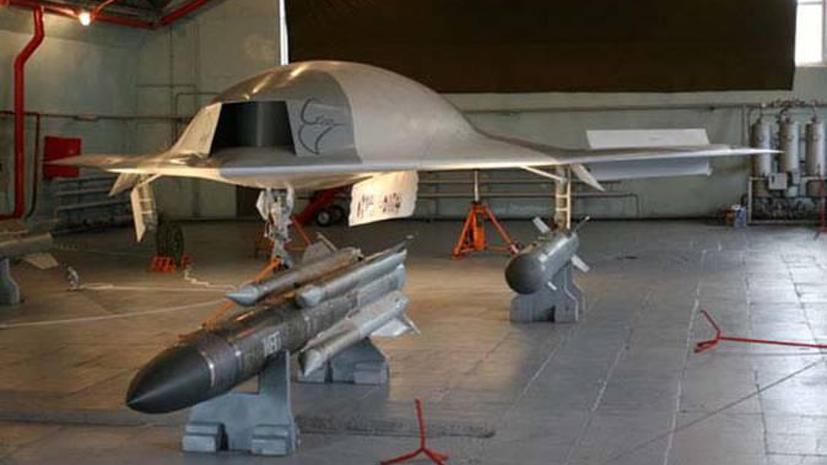 Китай испытал беспилотник, очень похожий на российский аналог