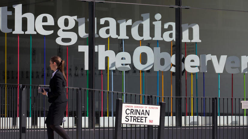 На The Guardian обрушился шквал критики после публикации слогана о «приносящем в жертву детей» ХАМАС