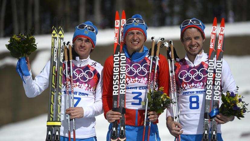 Олимпийская сборная России выиграла медальный зачёт Игр в Сочи