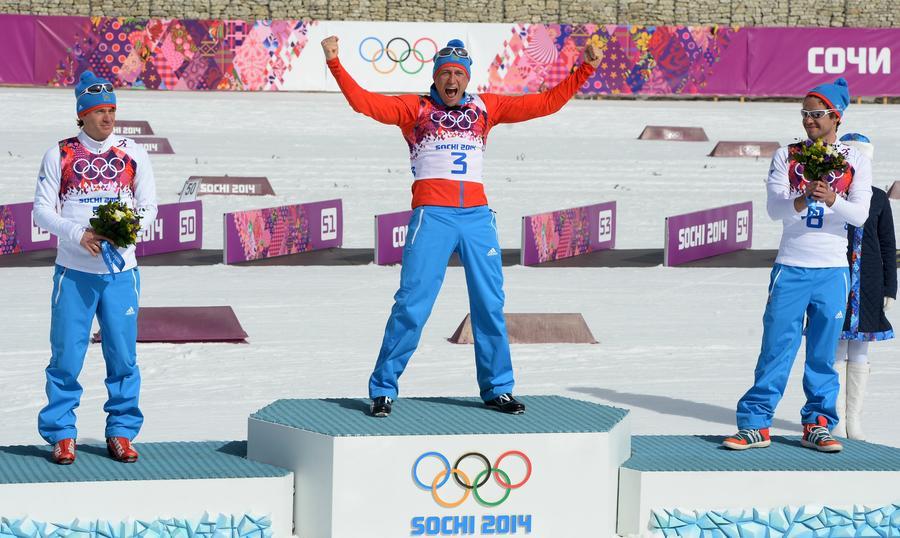 В последний день Игр в Сочи российские спортсмены достигли результатов олимпийцев СССР