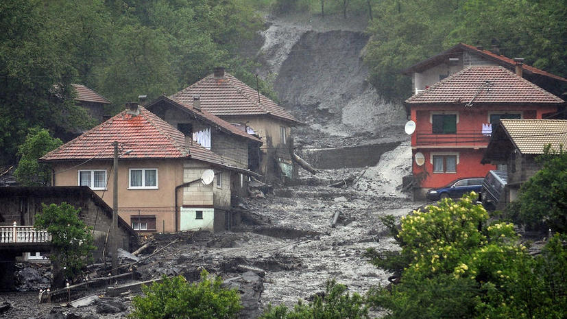 Наводнение в Восточной Европе привело к человеческим жертвам