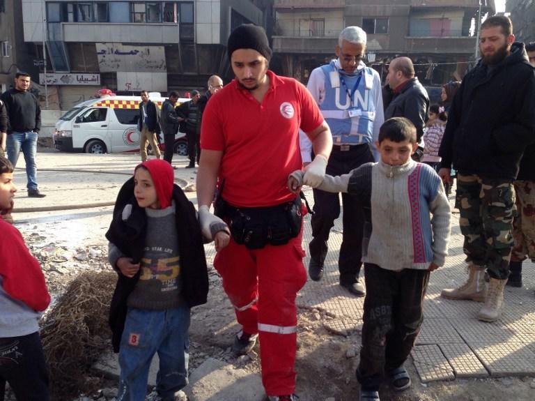 ООН: За время конфликта в Сирии 10 тыс. детей были убиты или искалечены
