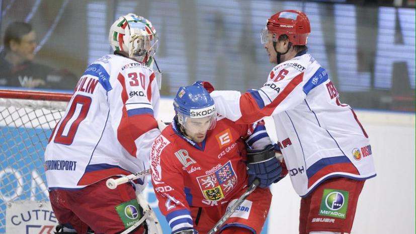 Первый этап Еврохоккейтура завершился для сборной России поражением