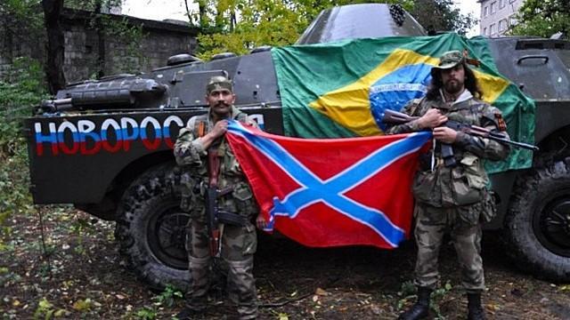 Доброволец из Бразилии воюет за Новороссию и многополярный мир