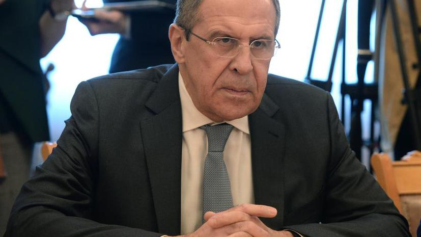 Сергей Лавров: Для противодействия терроризму нужно отложить в сторону амбиции и действовать сообща