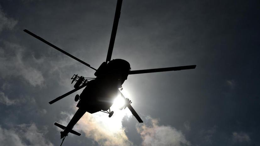 Вертолёт Ми-8 упал в море в Хабаровском крае, судьба пяти человек остаётся неизвестной
