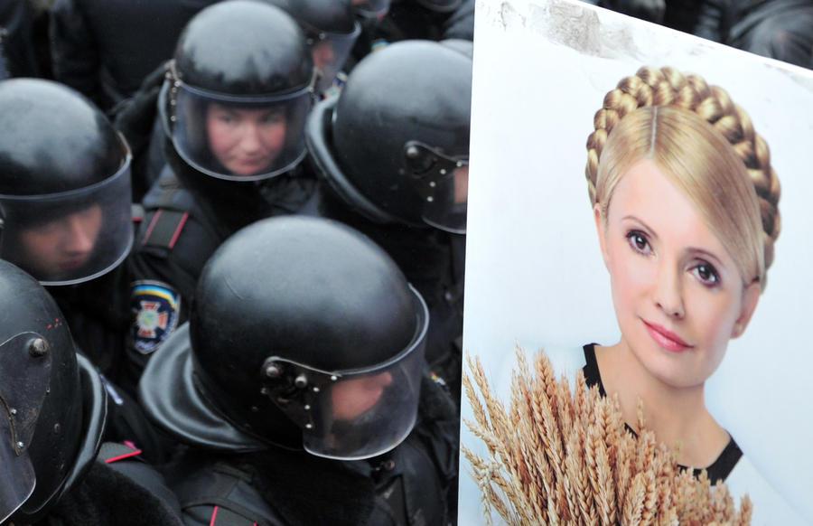 Милиция окружила больницу, где находится Юлия Тимошенко