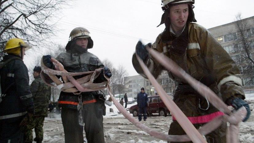 Девять человек погибли на пожаре в Москве