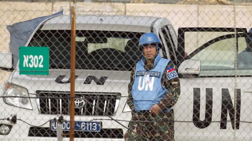 Сирийские боевики готовы отпустить захваченных миротворцев ООН