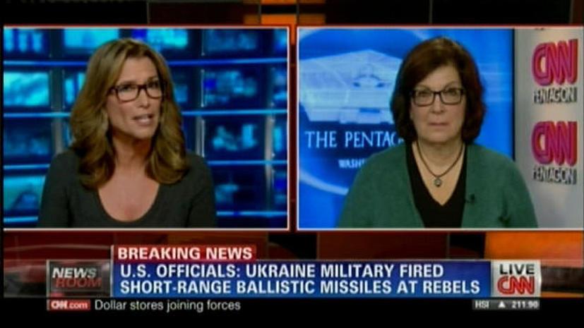 Телеканал CNN сообщил о запуске украинскими силовиками баллистических ракет по Донбассу
