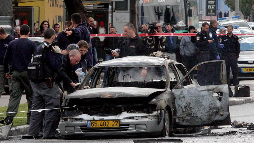 Взрыв в центре Тель-Авива мог быть покушением на криминального авторитета