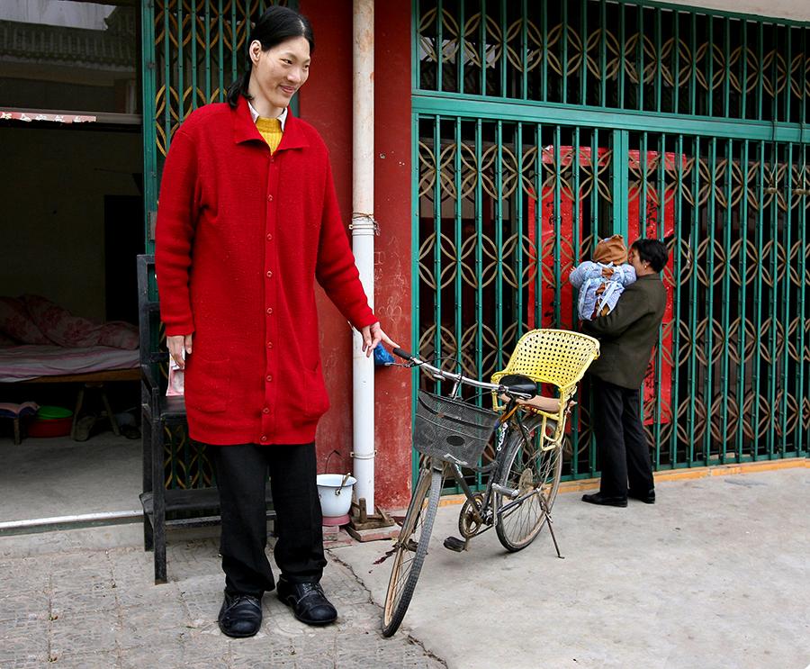Скончалась самая высокая женщина в мире