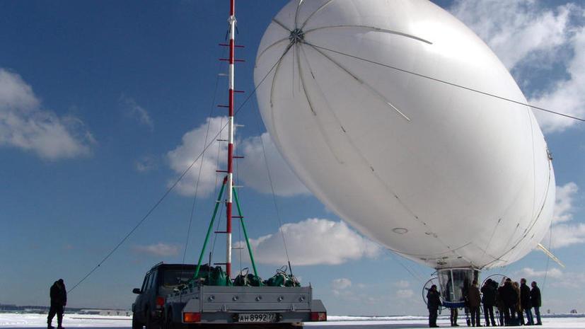 Арктику будут патрулировать российские дирижабли-беспилотники