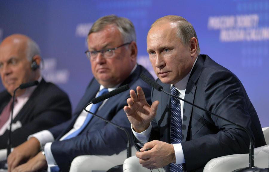 Владимир Путин рассказал о целях России в Сирии