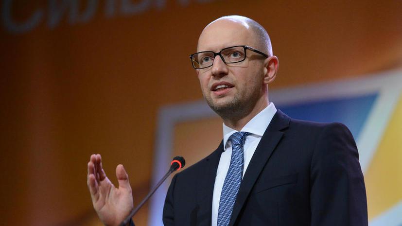 Арсений Яценюк рассказал французскому журналисту, когда прекратит геноцид в Донбассе