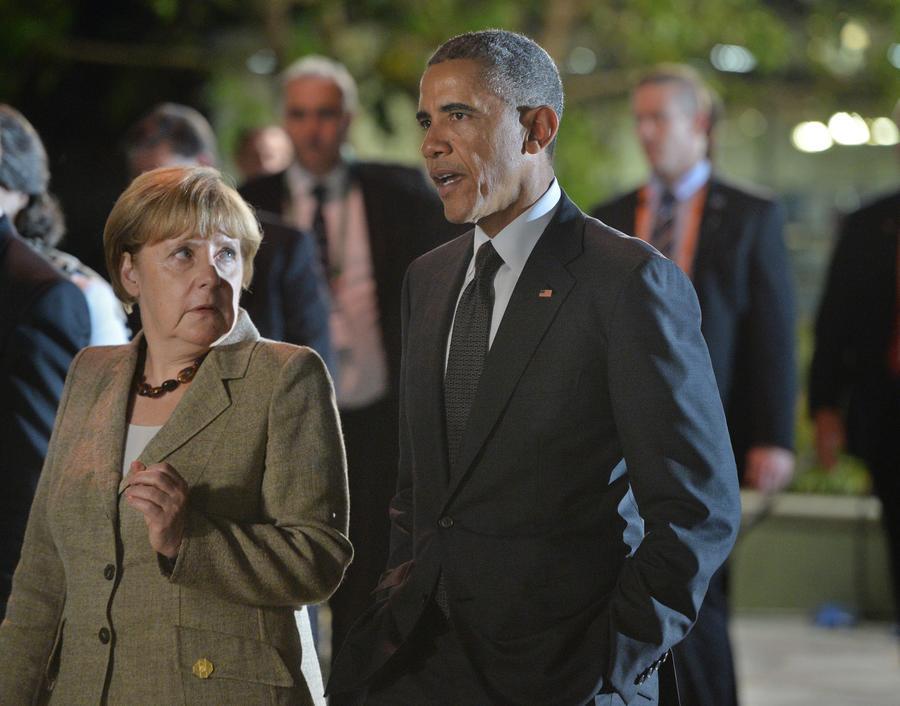 СМИ: Барак Обама угрожает ФРГ отказом от участия в саммите G7 в случае публикации списков слежки АНБ