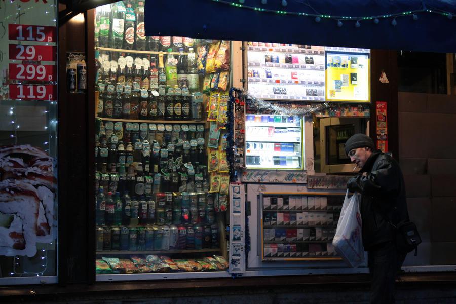 В России стали меньше пить: продажи алкоголя снизились