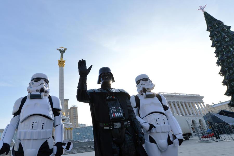 В парламент Украины баллотируются Дарт Вейдер, Степан Чубакка и Магистр Йода