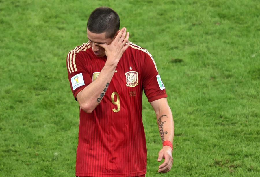 ЧМ-2014: действующий чемпион мира сборная Испании лишилась шансов на выход из группы