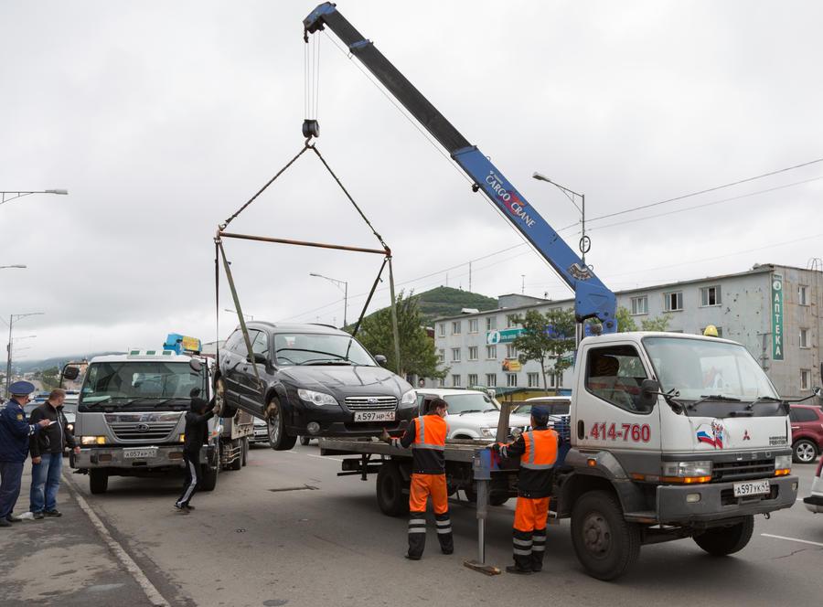 Зона работы эвакуаторов в Москве будет кардинально сокращена