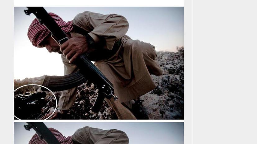 Агентство Associated Press уволило фотографа за редактуру снимка
