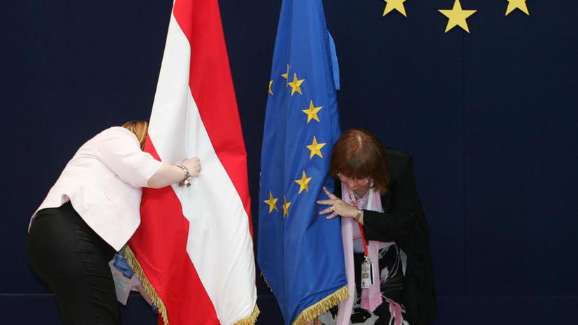 В Австрии проходит сбор подписей в поддержку референдума о выходе страны из ЕС