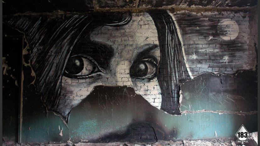 Умер «русский Бэнкси» - уличный художник Паша P183