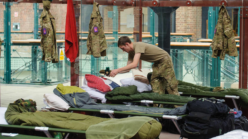 С военных баз Великобритании украдено имущества на £280 тыс