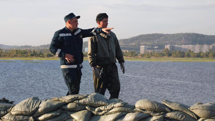 Уровень Амура у Хабаровска и Комсомольска продолжает снижаться