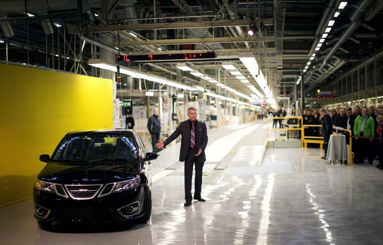 Компания Saab снова начала выпускать автомобили