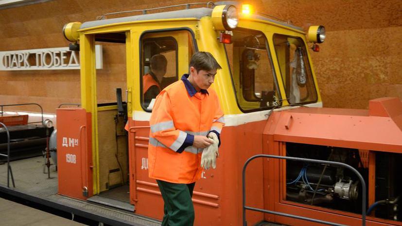 СМИ: В московском метро может появиться поезд-пылесос
