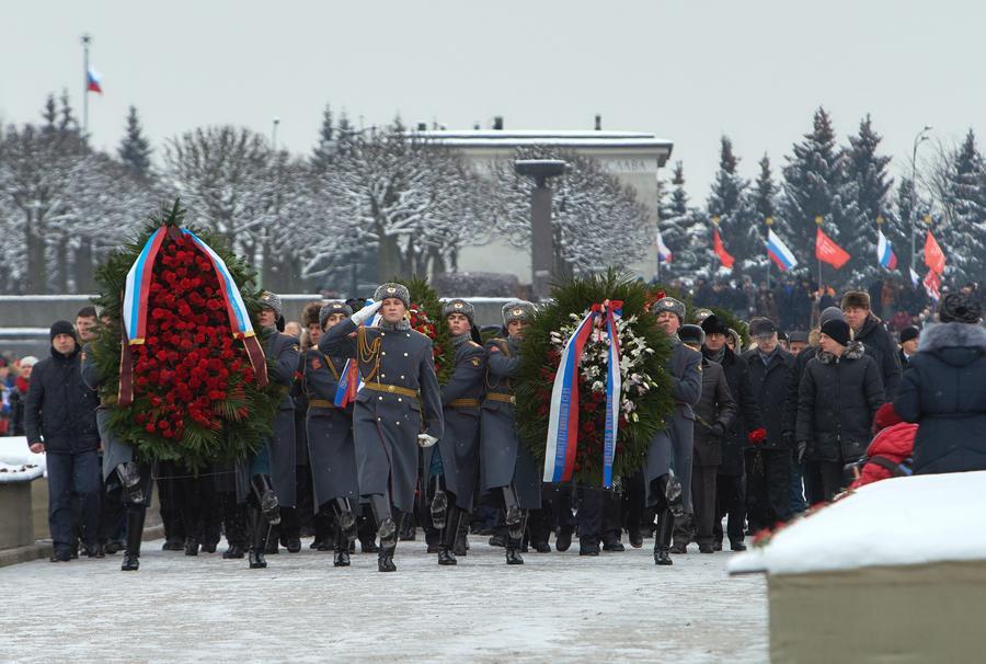В России отмечают 71-ю годовщину полного освобождения Ленинграда от фашистской блокады