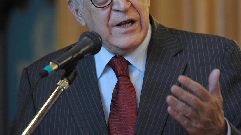 Лахдар Брахими: Инициатива РФ по сирийским переговорам может стать перспективным проектом
