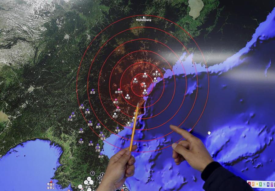 В России осудили испытание Северной Кореей водородной бомбы