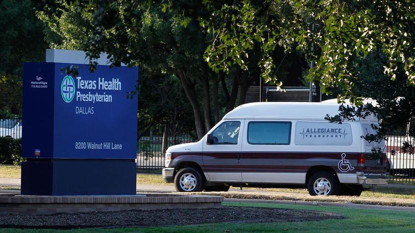 Пациента с вирусом Эбола в США госпитализировали только через два дня после первого обращения