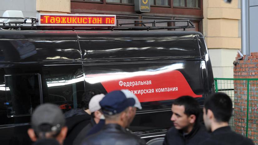 В Москве нашли очередной «городок» мигрантов