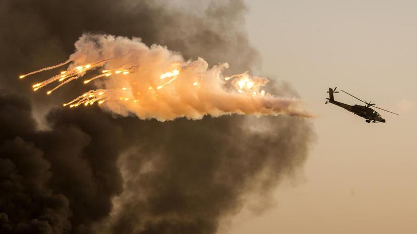 США задействовали вертолёты Apache против боевиков в Ираке