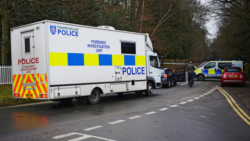Британская полиция: в доме Березовского сработал дозиметр