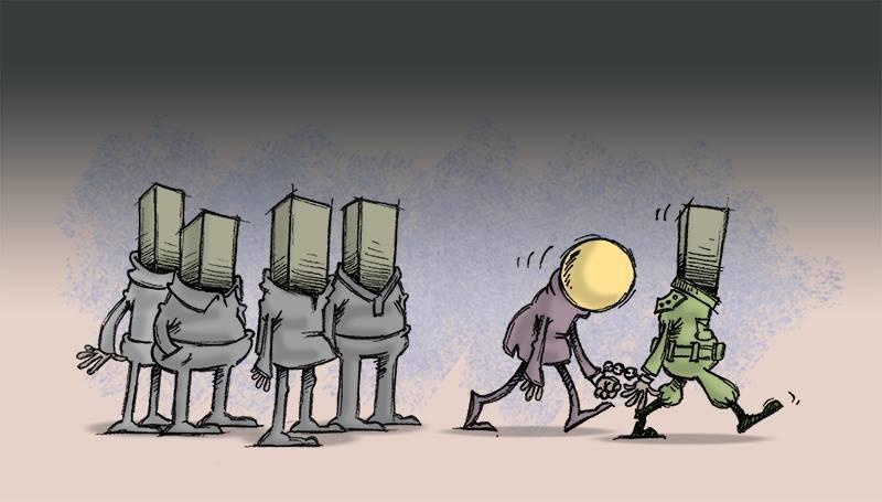 Художник из Ирана покорил Instagram своими карикатурами